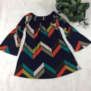 Voll Bell Sleeve Women's Tunic Top Size S
